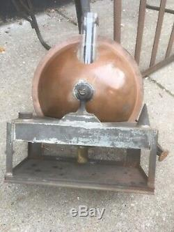 1800`s Glazier Headlight Co. Steam Tractor Headlight & Lamp Assembly Railroad