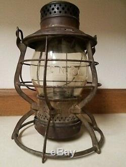 1897 G. N. Rwy. Great Northern Railway Lantern Serial Number 3893