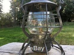 1897 OR&N Oregon Railroad & Navigation Co A&W THE ADAMS Clear Cast Ext-B Globe