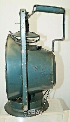 1920s 30s Era Dietz Railroad Inspectors Kerosene Lantern / Lamp