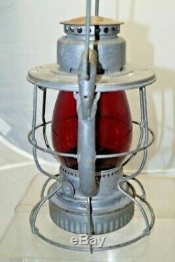 1951 Dietz Vesta Railroad Lantern / Lamp Oil Kerosene COLLECTOR EXAMPLE