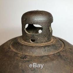2 Vintage The Toledo Torch Smudge Pot Road Flare Railroad Construction