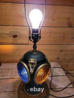 4 Way Railroad Lantern Electrified Lamp Light