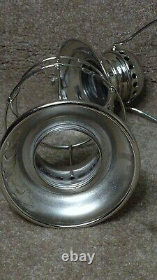 ADLAKE PULLMAN STYLE CONDUCTOR RAILROAD LANTERN WithCLEAR GLOBE (2)