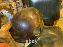 ANTIQUE 12 RAILROAD TRAIN STEAM LOCOMOTIVE Uranium HEADLIGHT Pyle NationaL