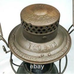 Adlake Bell Bottom Railroad Lantern Sports leisure Outdoor Light vintage used