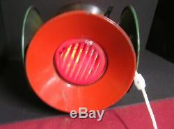 Adlake Electric Railroad Red / Green Switch Lantern. Lamp