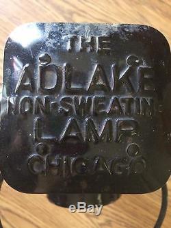 Adlake Lamp Lantern 4 Way Railroad Switch Signal Train