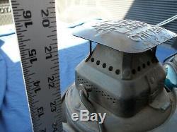 Adlake Non-Sweating Railroad Lamp Chicago Train Lamp Lantern 4 Way With mounts