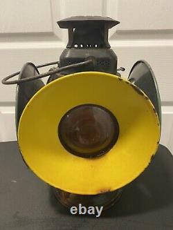 Adlake Non Sweating Railroad Switch Lamp Lantern Train Railway Light