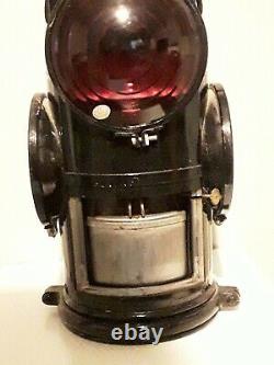 Adlake Non-Sweating Vintage Lamp Chicago / Railroad Lantern
