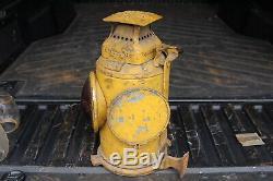 Adlake PRR Caboose Marker Lamp Pennsylvania Railroad