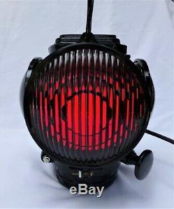 Adlake Railroad Marker Lamp/light Model # 1283 Caboose Rear Tail Light
