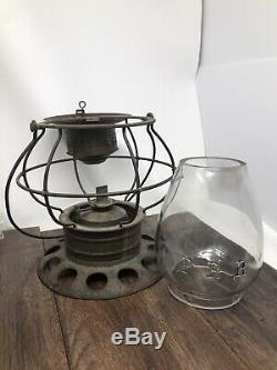 Aetna Lantern By Taylor manufacturing Company 1874 Pennsylvania Railroad