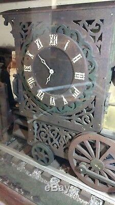 Antique 1929 Chicago Rock Island Pacific Railroad 51 Train Locomotive Clock