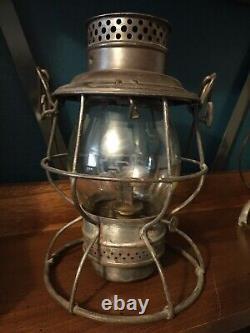 Antique Adams & Westlake Pennsylvania System Railroad Lantern