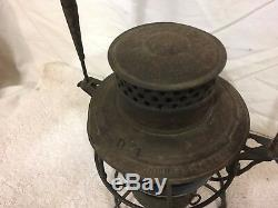 Antique Adams & Westlake Train Railroad Oil Lantern No. 250