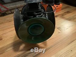 Antique Adlake Railroad Marker Signal Lantern