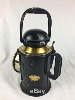 Antique BR / G. W. R Tri-Signal Railway Lamp / Lantern, G Polkey Birmingham