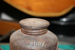 Antique Boston & Maine Railroad Oil Kerosene Lamp Eagle B&M Railroad Train