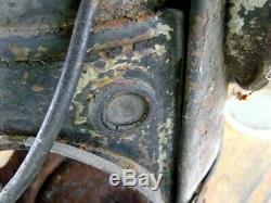 Antique CCC&StL Adlake Railroad Switch Lamp Light Oil Lantern Rusty Gold