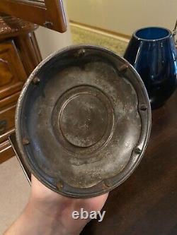 Antique CM&StP Ry Railway Lantern. Blue Cnx Globe
