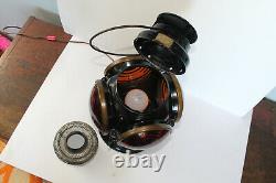 Antique Caboose Armspear 28A Railroad Lantern RR Switch Lamp, Locomotive Railway