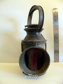 Antique Colour Changing Railway Signal Lamp Lantern 1930s C. Polkey Ltd
