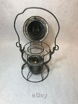 Antique Dietz No. 999 NYCS New York Central Railroad Lantern Kerosene NY USA