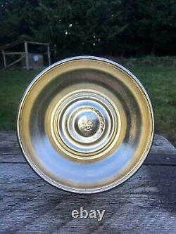 Antique Dietz Railroad Conductor Lantern Clear Etched Globe Nickel Plated BB