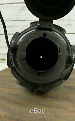 Antique Dressel 4 Way Kerosene Railroad Train Caboose Switch Signal Lantern Lamp