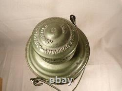 Antique ICRR Illinois Central Railroad Lantern A&W THE ADAMS with Globe