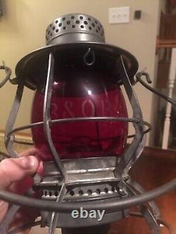 Antique Keystone The Casey LOCO Baltimore And Ohio Railway Lantern. B&O