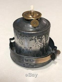 Antique M. M. BUCK & CO. THE BUCK I. C. R. R. Illinois Central Railroad Lantern
