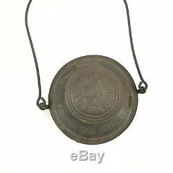 Antique New York Central Dietz No. 6 Railroad Lantern