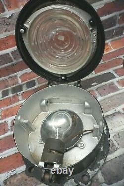 Antique Pyle National Company RR Railroad Caboose Locomotive Light Vintage