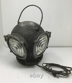 Antique Pyle-National Company Railroad Train Light Lantern 1924 Train WORKS