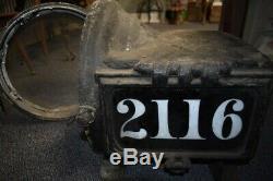 Antique Pyle Train Head Light Lamp Railroad RR Locomotive 2116 Vintage ESTATE