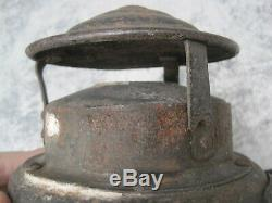 Antique RR Armspear Lantern 2 Way Railroad Switch Signal Train Light B1824