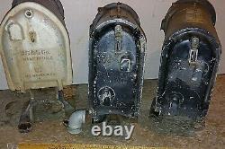 Antique Railroad Signal Lights