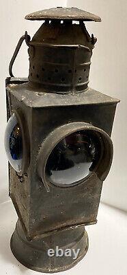 Antique Railroad Switch Light Lantern