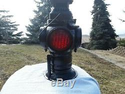 Antique Vintage Adlake Railroad Switch Lamp Oil Lantern UPRR Union Pacific