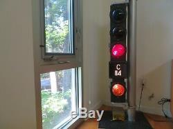 Antique Vintage Union Switch & Signal Railroad Subway Elevated Train Signal