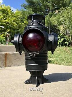 Armspear Mfg Co Railroad Switch Lamp 1915 Railway Train Lantern Light
