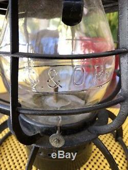 Armsphere Vintage Railroad Lantern C & O