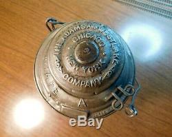 Atchison Topeka & Santa Fe Railroad Lantern A&w Company Santa Fe 1895 At&sf