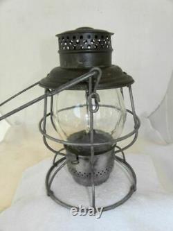 BALTIMORE & OHIO RAILROAD LANTERN Clear Cast B&ORR Lantern Globe