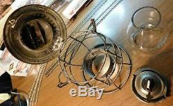 BALTIMORE & OHIO RAILROAD Lantern 1895 ADAMS & WESTLAKE COMPANY CHGO NY B&O RR