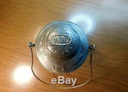 BOSTON & ALBANY RAILROAD LANTERN Bell Bottom No-6 DIETZ NEW YORK U. S. A. B&A 1890