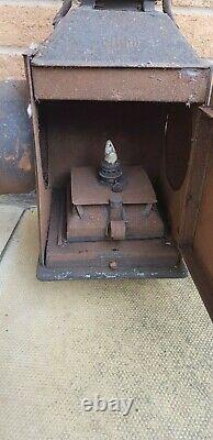 Big Rare BR Railway Pair of Lamps Railwayana BR(M)